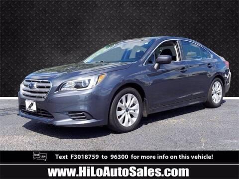 2015 Subaru Legacy for sale at Hi-Lo Auto Sales in Frederick MD