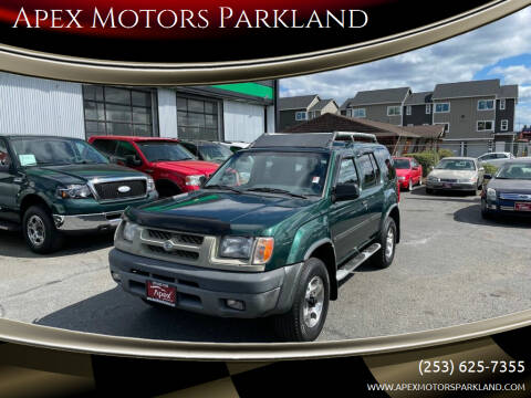 2000 Nissan Xterra for sale at Apex Motors Parkland in Tacoma WA