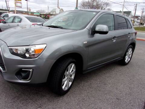 2014 Mitsubishi Outlander Sport for sale at MIRACLE AUTO SALES in Cranston RI