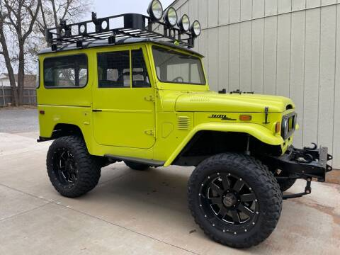 1973 Toyota Land Cruiser for sale at Shelby's Automotive in Oklahoma City OK