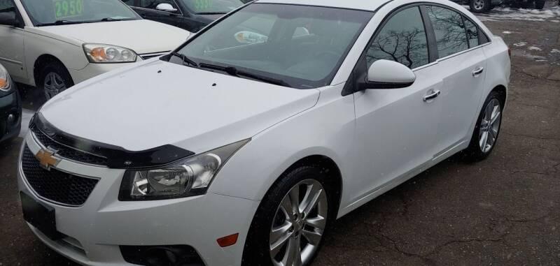 2012 Chevrolet Cruze for sale at Superior Motors in Mount Morris MI