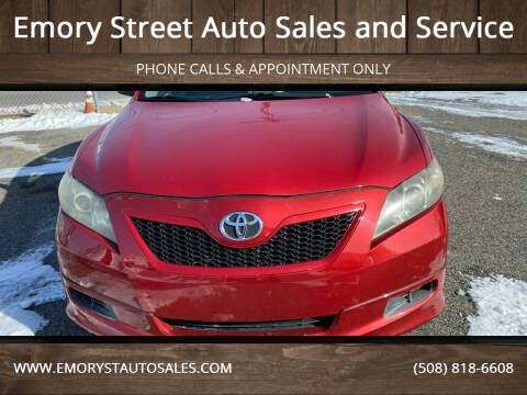 2008 Toyota Camry for sale at Emory Street Auto Sales and Service in Attleboro MA
