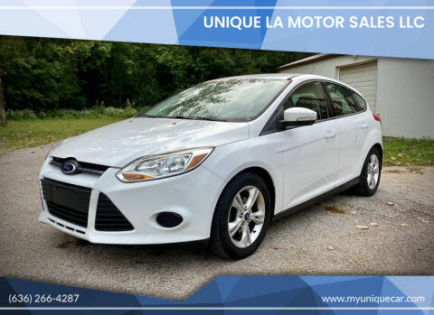 2013 Ford Focus for sale at Unique LA Motor Sales LLC in Byrnes Mill MO