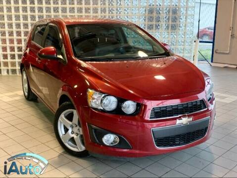 2013 Chevrolet Sonic for sale at iAuto in Cincinnati OH
