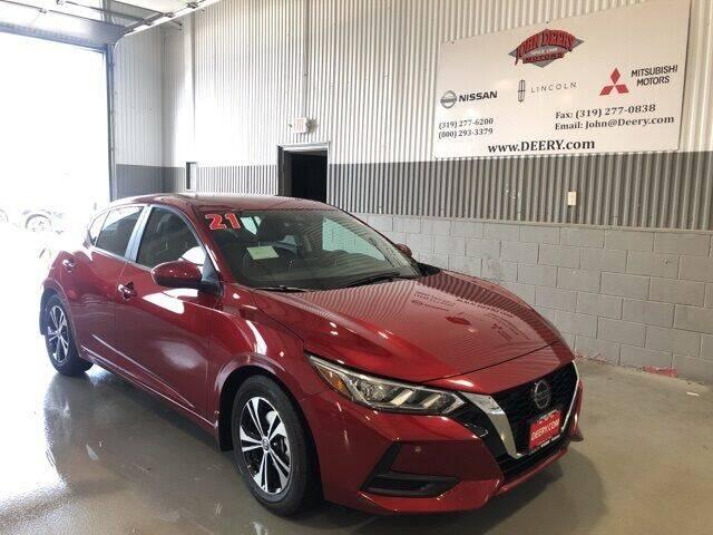 2021 Nissan Sentra for sale in Cedar Falls, IA