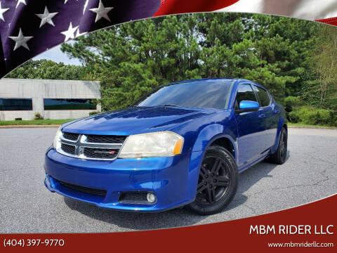 2013 Dodge Avenger for sale at MBM Rider LLC in Alpharetta GA