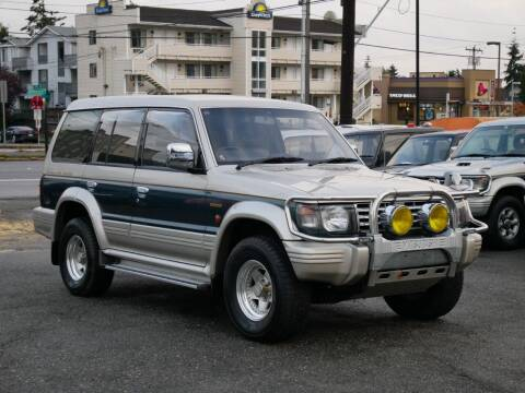 1992 Mitsubishi Pajero 4X4 for sale at JDM Car & Motorcycle LLC in Seattle WA