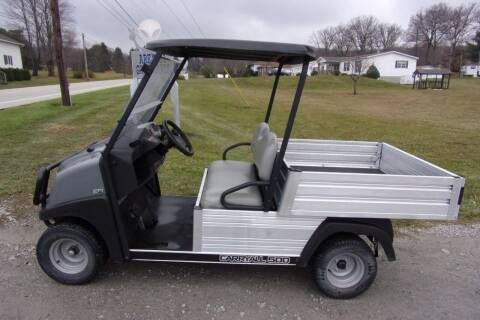 2017 Club Car Utility Cart Carry All 500 Gas EFI for sale at Area 31 Golf Carts - Gas Utility Carts in Acme PA