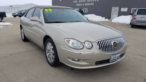2008 Buick LaCrosse for sale at The Auto Shoppe Inc. in New Vienna IA