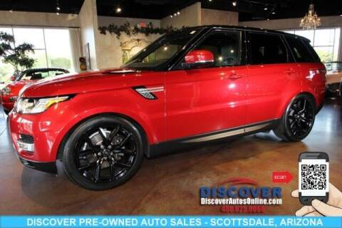2016 Land Rover Range Rover Sport for sale at Discover Pre-Owned Auto Sales in Scottsdale AZ
