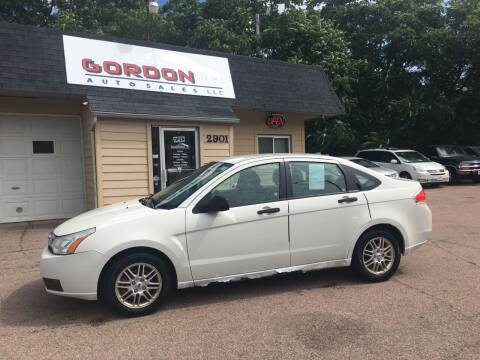 2009 Ford Focus for sale at Gordon Auto Sales LLC in Sioux City IA