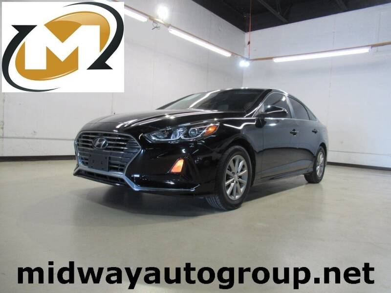 2018 Hyundai Sonata for sale at Midway Auto Group in Addison TX