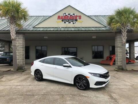 2020 Honda Civic for sale at Rabeaux's Auto Sales in Lafayette LA