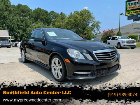 2013 Mercedes-Benz E-Class for sale at Smithfield Auto Center LLC in Smithfield NC
