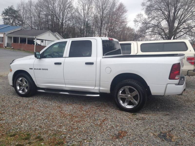 2012 RAM Ram Pickup 1500 for sale at Venable & Son Auto Sales in Walnut Cove NC