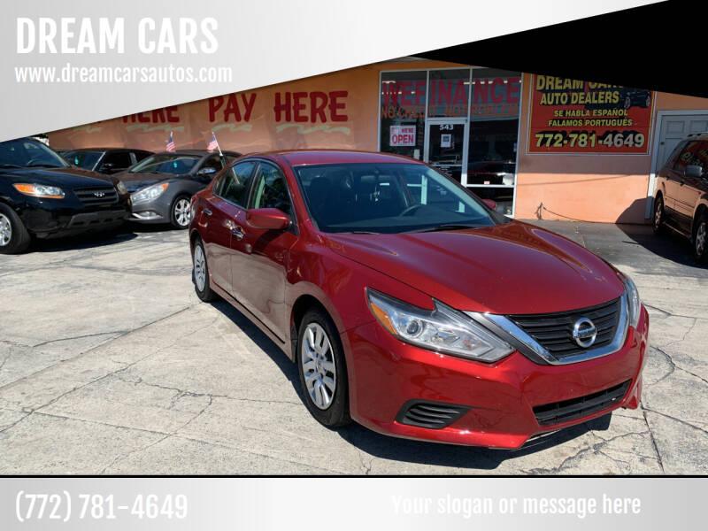 2017 Nissan Altima for sale at DREAM CARS in Stuart FL