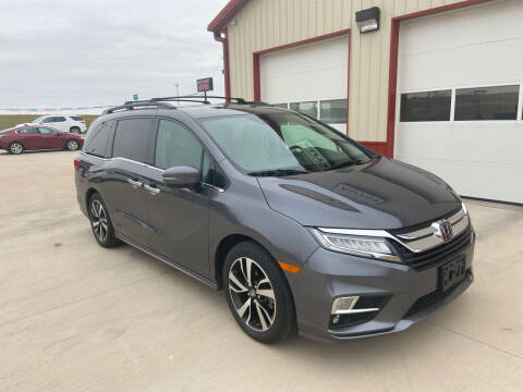 2018 Honda Odyssey for sale at SCOTT LEMAN AUTOS in Goodfield IL