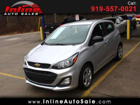 2020 Chevrolet Spark for sale at Inline Auto Sales in Fuquay Varina NC