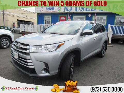 2019 Toyota Highlander for sale at New Jersey Used Cars Center in Irvington NJ