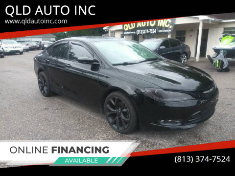 2015 Chrysler 200 for sale at QLD AUTO INC in Tampa FL