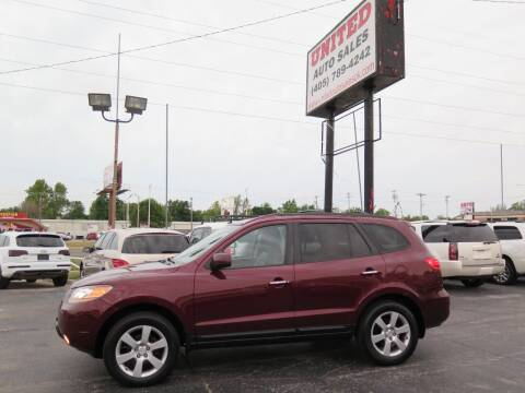 2009 Hyundai Santa Fe for sale at United Auto Sales in Oklahoma City OK