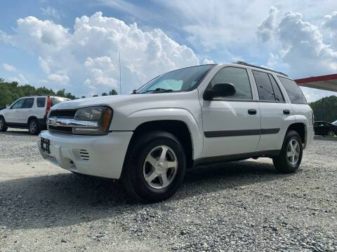 2005 Chevrolet TrailBlazer for sale at Charlie's Used Cars in Thomasville NC