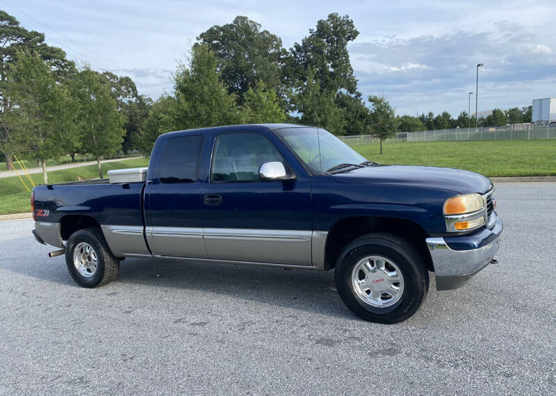 1999 GMC Sierra 1500 for sale at GTO United Auto Sales LLC in Lawrenceville GA