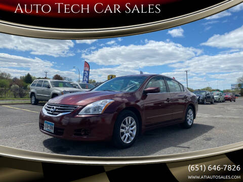 2010 Nissan Altima for sale at Auto Tech Car Sales in Saint Paul MN