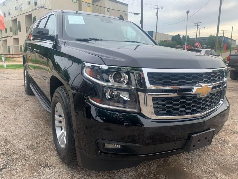 2018 Chevrolet Suburban for sale at LLANOS AUTO SALES LLC in Dallas TX