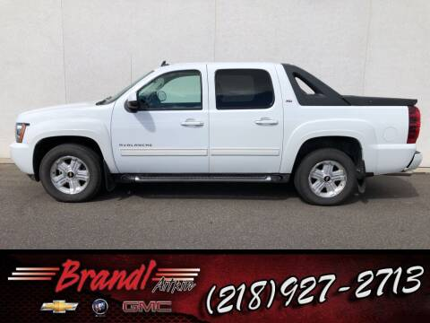 2010 Chevrolet Avalanche for sale at Brandl GM in Aitkin MN