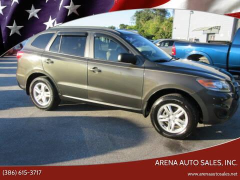 2012 Hyundai Santa Fe for sale at ARENA AUTO SALES,  INC. in Holly Hill FL