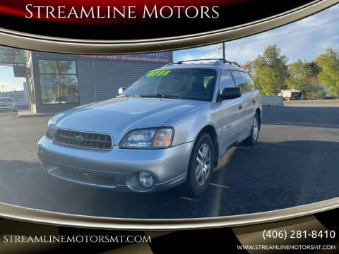 2004 Subaru Outback for sale at Streamline Motors in Billings MT