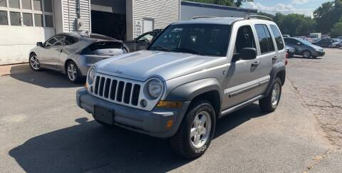 2005 Jeep Liberty for sale at Manchester Auto Sales in Manchester CT