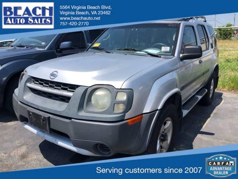 2004 Nissan Xterra XE 4WD 4dr SUV V6 - Virginia Beach VA