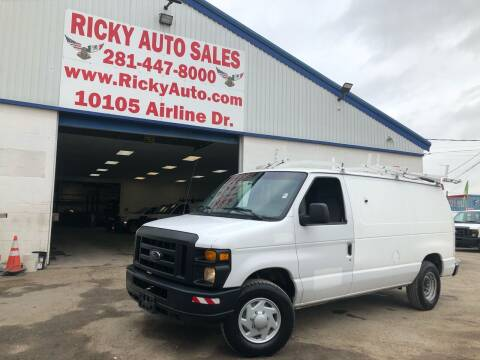 2008 Ford E-Series Cargo for sale at Ricky Auto Sales in Houston TX