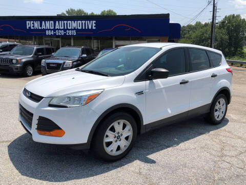 2016 Ford Escape for sale at Penland Automotive Group in Laurens SC