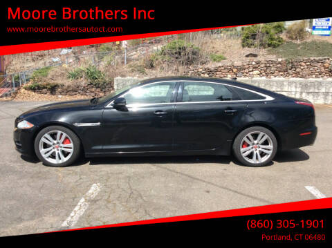 2011 Jaguar XJL for sale at Moore Brothers Inc in Portland CT