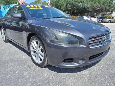 2011 Nissan Maxima for sale at AFFORDABLE AUTO SALES OF STUART in Stuart FL
