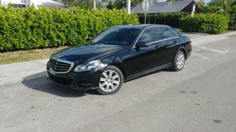 2014 Mercedes-Benz E-Class for sale at Easy Finance Motors in West Park FL