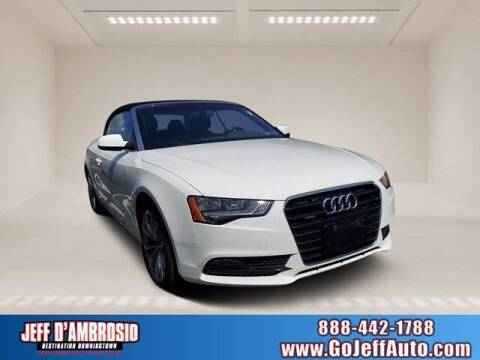 2014 Audi A5 for sale at Jeff D'Ambrosio Auto Group in Downingtown PA