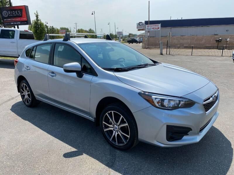 2018 Subaru Impreza for sale at Rides Unlimited in Nampa ID