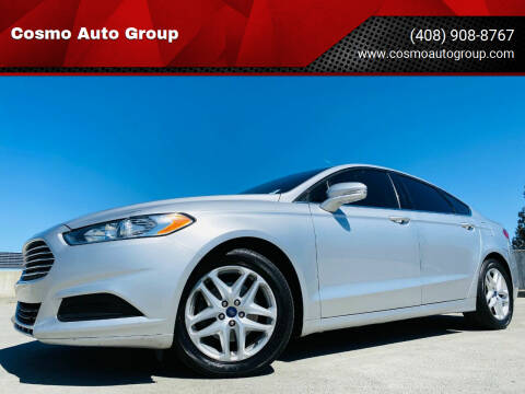 2016 Ford Fusion for sale at Cosmo Auto Group in San Jose CA