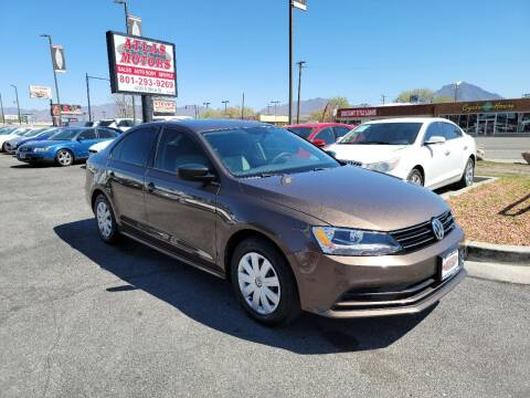 2015 Volkswagen Jetta for sale at ATLAS MOTORS INC in Salt Lake City UT