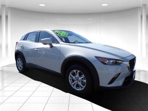 2018 Mazda CX-3 for sale at Sandy Motors Inc in Coventry RI