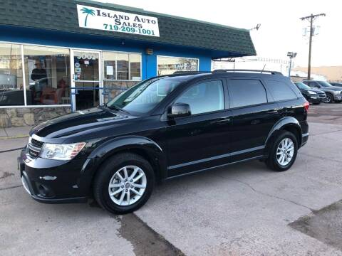 2013 Dodge Journey for sale at Island Auto Sales in Colorado Springs CO