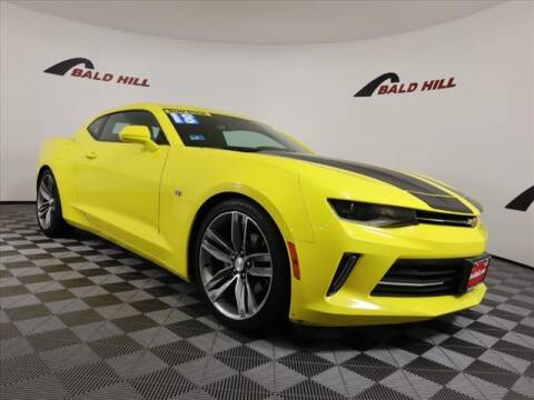 2018 Chevrolet Camaro for sale at Bald Hill Kia in Warwick RI