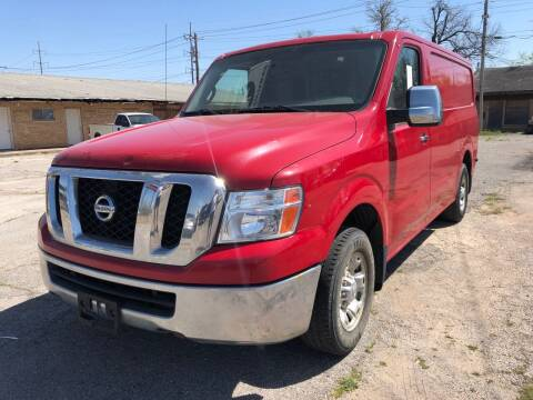 2012 Nissan NV Cargo for sale at Ital Auto in Oklahoma City OK