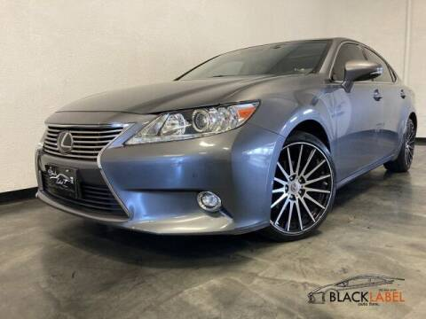 2014 Lexus ES 350 for sale at BLACK LABEL AUTO FIRM in Riverside CA