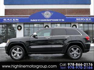 2012 Jeep Grand Cherokee for sale at Highline Group Motorsports in Lowell MA