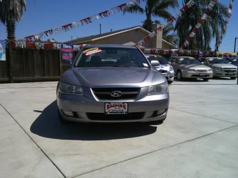 2006 Hyundai Sonata for sale at Empire Auto Sales in Modesto CA